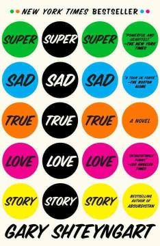 Super sad true love story book cover