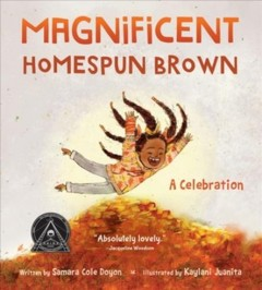 Magnificent homespun brown : a celebration book cover