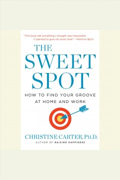 The sweet spot : how to find your groove at home and work book cover