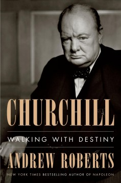 Churchill : walking with destiny book cover
