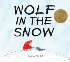Wolf in the snow book cover