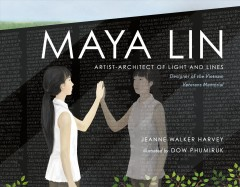 Maya Lin : artist-architect of light and lines book cover