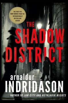 The shadow district : a thriller book cover