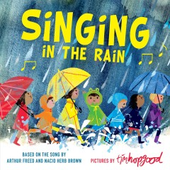 Singing in the rain book cover