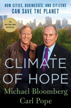 Climate of hope : how cities, businesses, and citizens can save the planet book cover