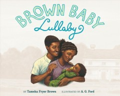 Brown baby lullaby book cover