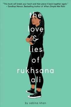 The love & lies of Rukhsana Ali book cover
