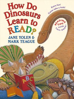 How do dinosaurs learn to read? book cover