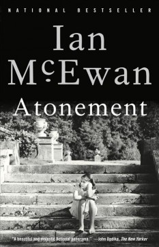 Atonement : a novel book cover