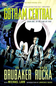 Gotham Central book cover