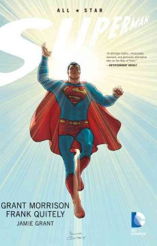 All-star Superman book cover