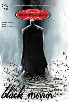 Batman : the black mirror book cover