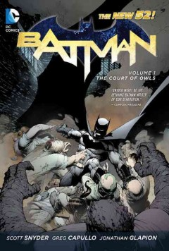 Batman book cover