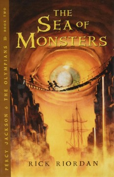 The sea of monsters book cover