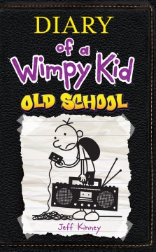 Diary of a wimpy kid : old school book cover