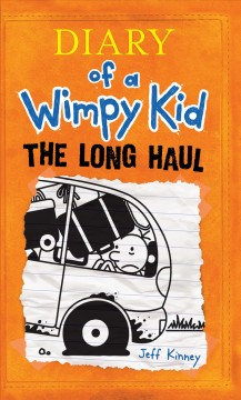 Diary of a wimpy kid : the long haul book cover