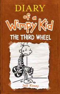 Diary of a wimpy kid : the third wheel book cover