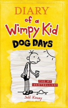 Diary of a wimpy kid : dog days book cover
