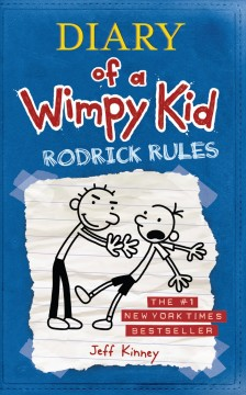 Diary of a wimpy kid : Rodrick rules book cover