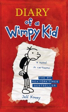 Diary of a wimpy kid : Greg Heffley's journal book cover