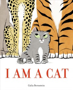 I am a cat book cover