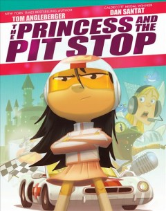 The Princess and the pit stop book cover