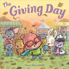 The giving day : a Cubby Hill tale book cover