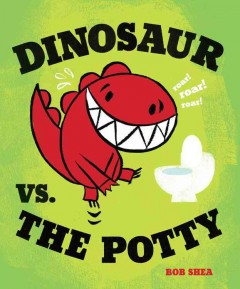 Dinosaur vs. the potty book cover