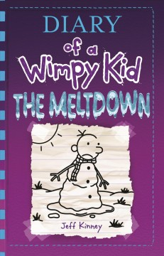Diary of a wimpy kid : the meltdown book cover