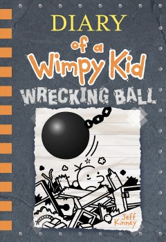 Diary of a wimpy kid : wrecking ball book cover
