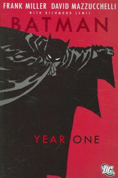Batman : year one book cover