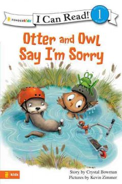 Otter and Owl say I'm sorry book cover