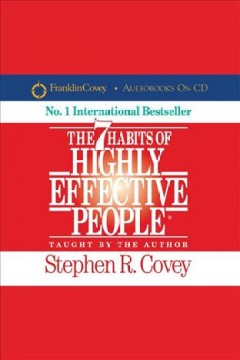 The 7 habits of highly effective people  book cover