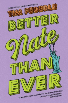 Better Nate than ever book cover