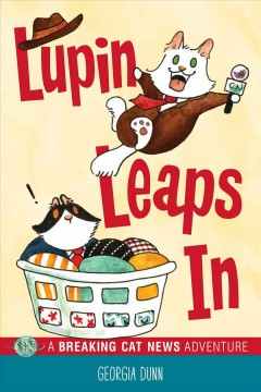 Lupin leaps in book cover