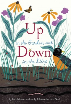 Up in the garden and down in the dirt book cover