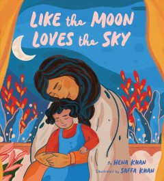 Like the moon loves the sky book cover