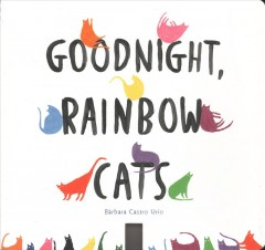 Goodnight, rainbow cats book cover