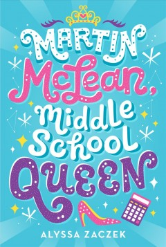 Martin McLean, middle school queen book cover