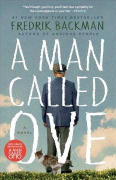 A man called Ove : a novel book cover