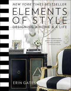 Elements of style : designing a home and a life book cover