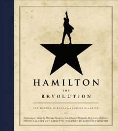 Hamilton : the revolution book cover