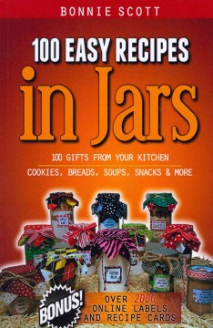 100 easy recipes in jars book cover