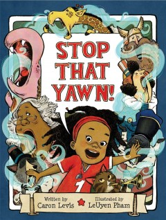 Stop that yawn! book cover