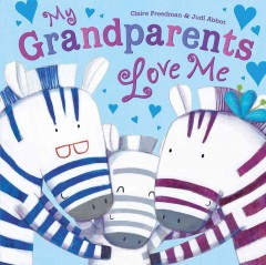 My grandparents love me book cover