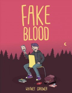Fake blood book cover