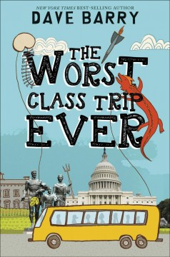 The worst class trip ever book cover