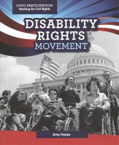 Disability rights movement book cover