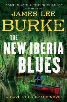 The New Iberia blues book cover