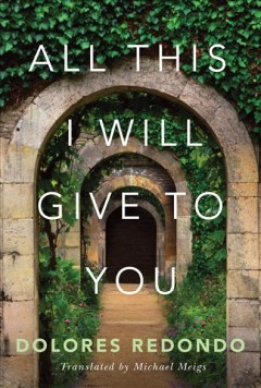 All this I will give to you book cover